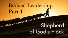 Shepherd of God's Flock